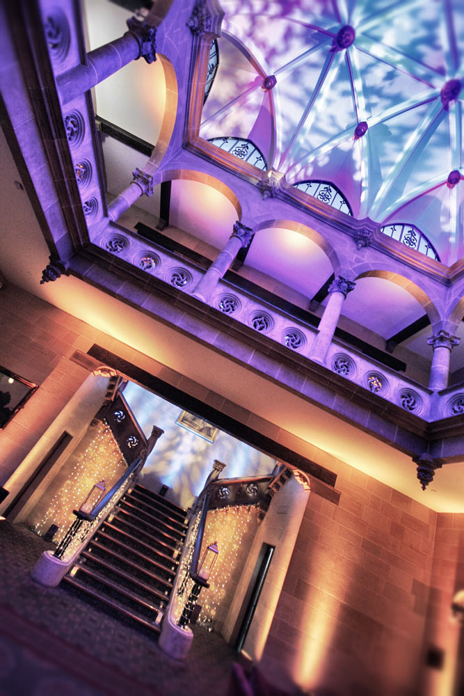 Northcote house Sunningdale architectural and event lighting