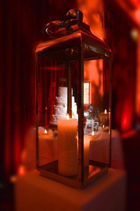 Alpheton Hall Barn wedding party lighting
