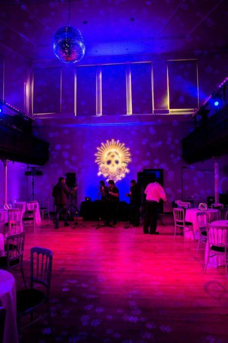 Amedeus London wedding event lighting design