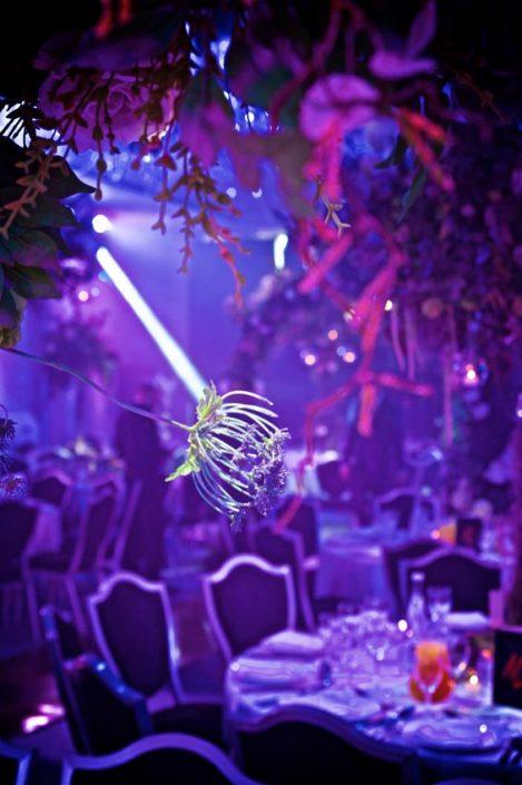 Hilton Syon Park lighting design festoon canopy indian wedding