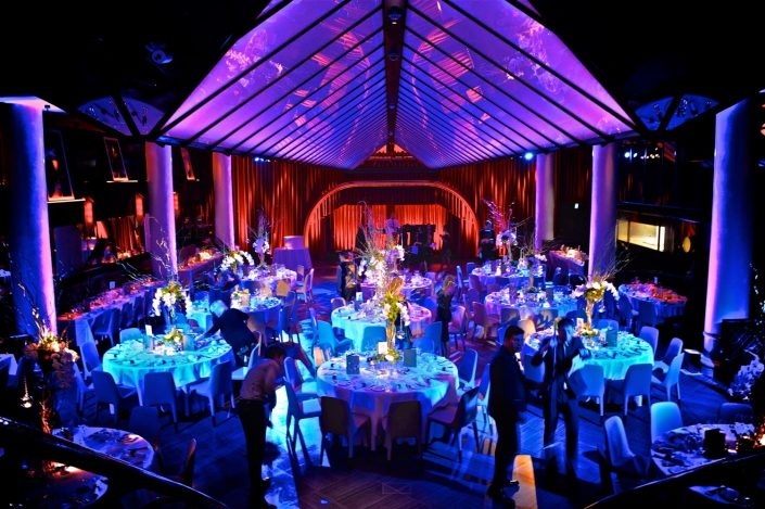 Quaglino london event lighting romantic candles indian wedding