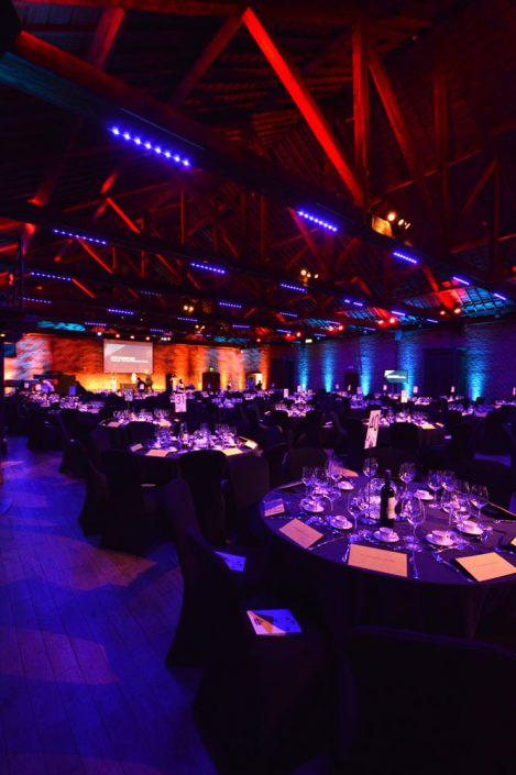 The Brewery porter tun - event, wedding and corporate lighting design