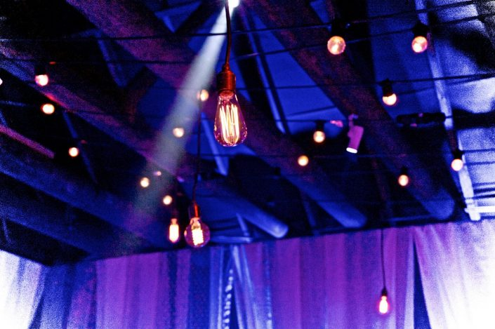 barn wedding shabby chic event lighting, wedding lighting
