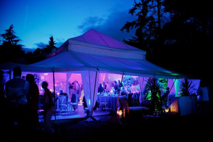 marquee wedding fairylight event party lighting