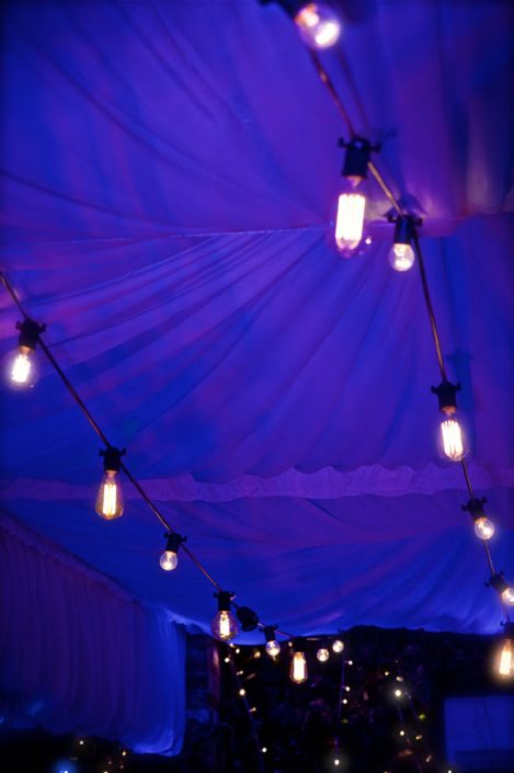 Northbrook house Indian Bride Wedding - Lighting design, backdrop, pinspotting, dance floor uplighting, festoon canopy, fairylights