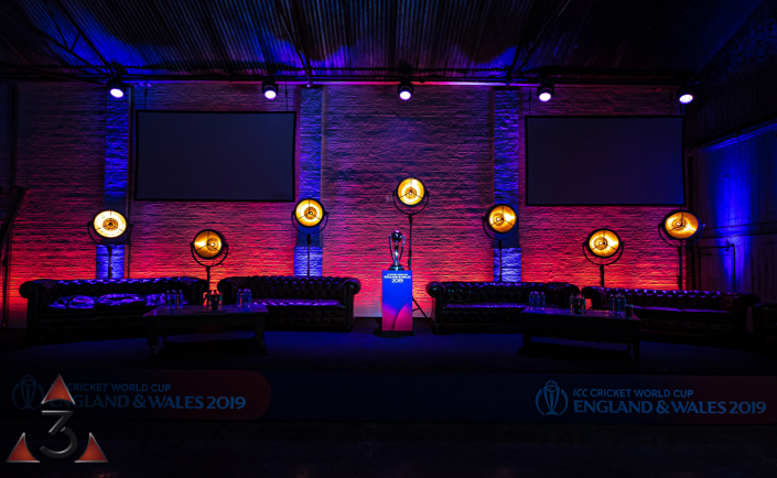 MC Motors Castle Gibson event corporate party lighting design