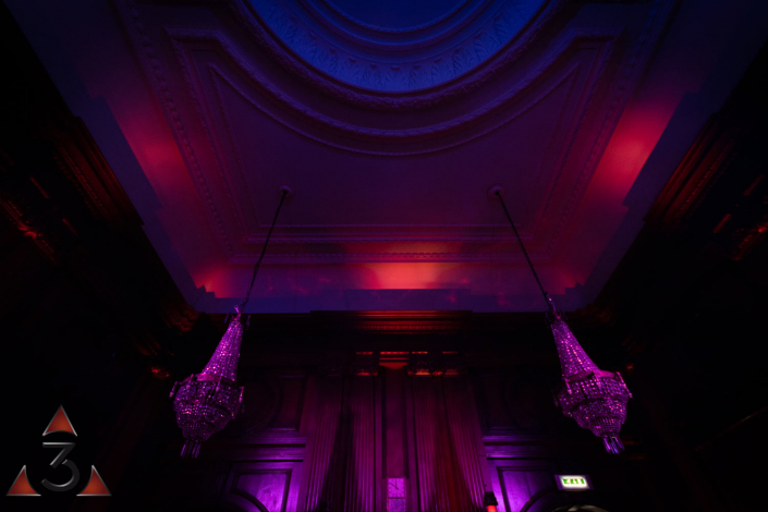 Wedding event corporate party lighting design