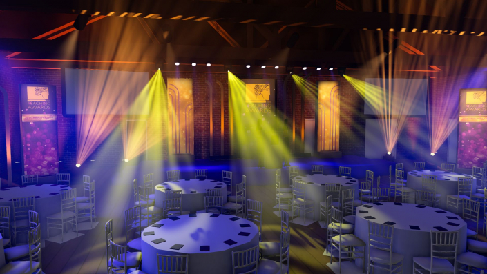 3 Point Lighting - 3D rendering service