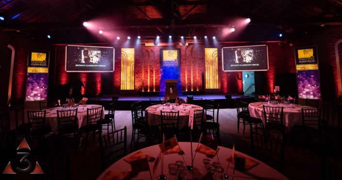 The brewery Porter Tun - wedding event corporate party lighting design