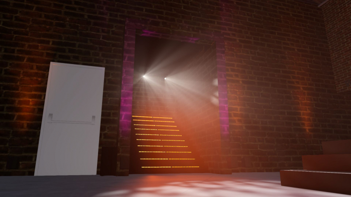 3 Point Lighting - 3D rendering service