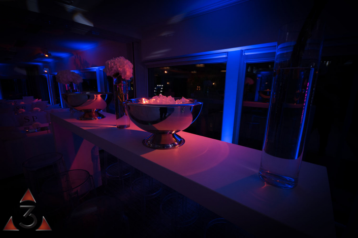 Wedding event corporate party lighting design